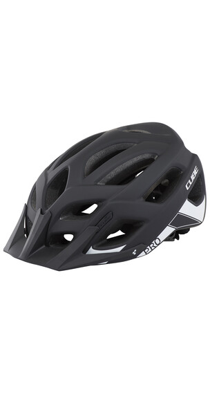 Cube Pro helm zwart